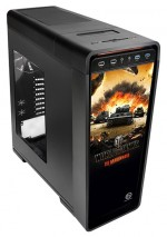 Корпус Thermaltake Urban S71 World of Tanks Edition VP500M1W2N Black