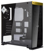 Корпус IN WIN 805 w/o PSU Black/yellow